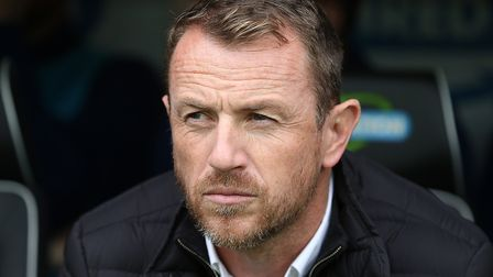 Derby County boss Gary Rowett brings his high-flying side to Portman Road this afternoon. Picture: F