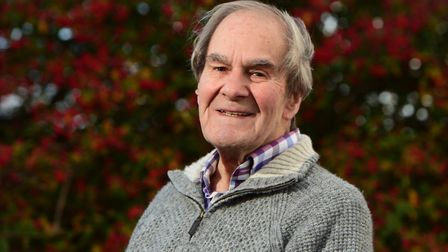 Ray Banks, who has been awarded a British Empire Medal for services to the community in Tiptree. Pic