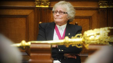 Sonia Lewis, an ex-council chairman and former mayor, is being recognised with a British Empire Meda