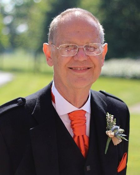 Graham Wadley, who is being honoured with a British Empire Medal for services to church music. Pictu