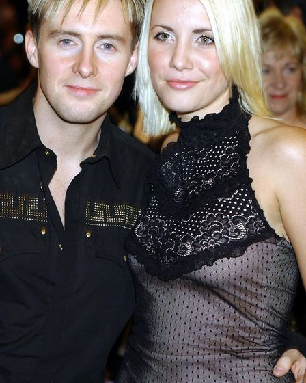 """Ian """"H"""" Watkins and Claire Richards, whose departure signalled the end of Steps. Photo: PA Photo / W"""