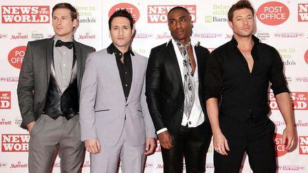 Boyband Blue - Lee Ryan, Antony Costa, Simon Webbe and Duncan James - will support Steps in Colchest