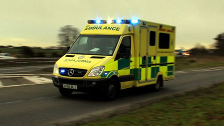 An East of England Ambulance Trust ambulance (stock image). Picture: SIMON PARKER