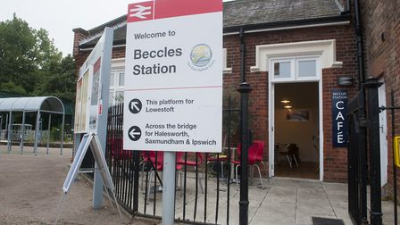 A variety of exciting projects have been earmarked for the Beccles railway station site in 2018. Pic