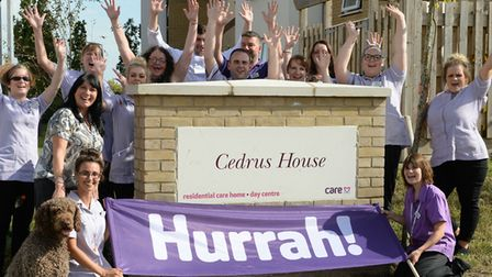 Care UK took over Suffolk's care homes and has built 10 new centres in the county. The team at Care