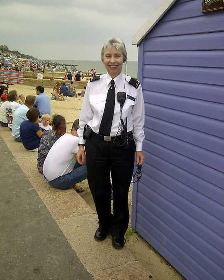 Carol Lukins. She has received an MBE. Picture: ARCHANT