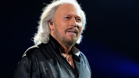Barry Gibb, who has been awarded a Knighthood for services to music and charity in the New Year Hono