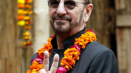 Ringo Starr, who has been awarded a Knighthood for services to music in the New Year Honours list. P