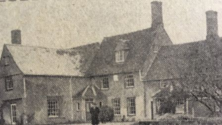 Tattingstone Hall Farm would likely be submerged. Picture: ARCHANT
