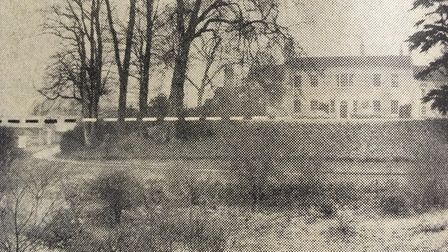 Alton Hall, Holbrook - a site that features in Domesday Book and, it was said, would find the water