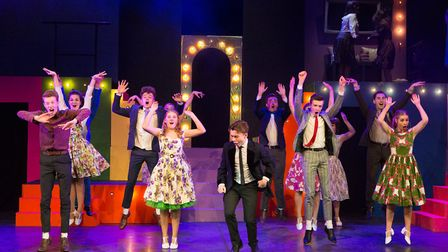 The Children's Theatre Company Ipswich stage Hairspray at The Apex, Bury St Edmunds. Picture: MIKE K