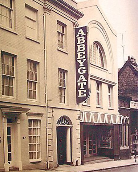 The front of the old Abbeygate Cinema in the 1960s