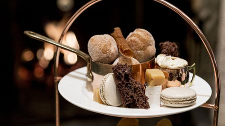A selection of treats from The Swan Hotel Southwold's afternoon tea. Picture: Sarah Groves
