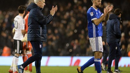 A disappointed Mick McCarthy leaves the pitch at Craven Cottage Picture Pagepix