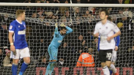 Bartosz Bialkowski is left in the net at Fulham's extra man allows the home side to romp to a 4-1 wi