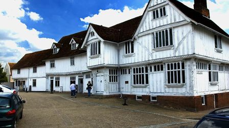 A few taken on the 1st August a nice summers day Lavenham Guildhall Steve Plume