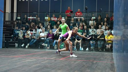 Ipswich squash star Lucy Turmel - a big year ahead. Photo: CONTRIBUTED