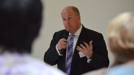 Colin Noble, Suffolk County Council leader, said work was ongoing to boost the attainment of disadva