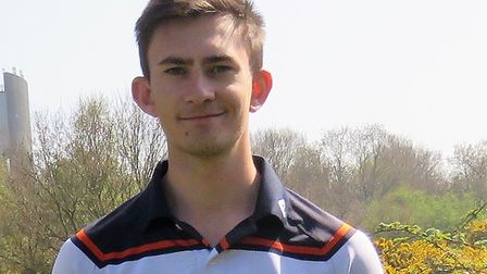 Chris Fleming, the former Cornwall county player from Perranporth, who is now at Ipswich Golf Club.