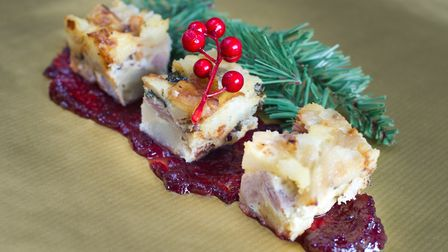 Christmas treats by Charlotte Smith-Jarvis.