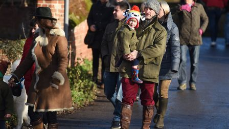 Spectaculars get ready for the Boxing Day hunt. Picture: GREGG BROWN