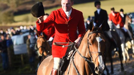 Hadleigh's annual Boxing Day hunt. Picture: GREGG BROWN