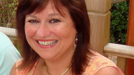 Gail brown from Haverhill died in the collision on the A1307 in Cambridgeshire.