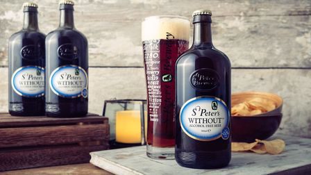 Without Original from St Peter's Brewery which is to feature in Tesco's Dry January promotion. Pict