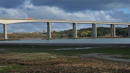 Highways England have said there are no plans to close to Orwell Bridge at this stage. Picture: SARA