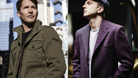 James Blunt and Plan B are performing at Newmarket Nights this summer. Picture: JIMMY FONTAINE / CON