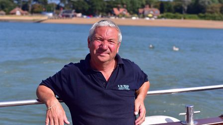 Stephen Read, assistant harbourmaster at Felixstowe Ferry, is urging people to make sure they wear l