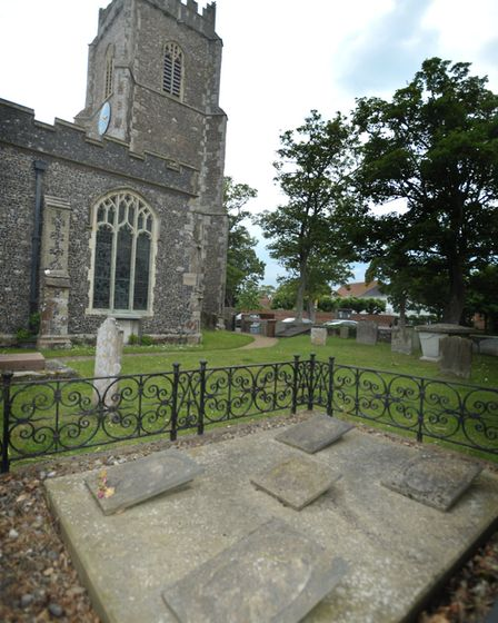 The grave of Elizabeth Garrett Anderson at Aldeburgh Church. Picture: SARAH LUCY BROWN