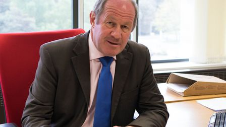 Tim Passmore, Suffolk's Police and Crime Commissioner. Picture: SUFFOLK PCC