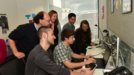 Miracle Tea Studios won funding last year to launch its game. Picture: SARAH LUCY BROWN