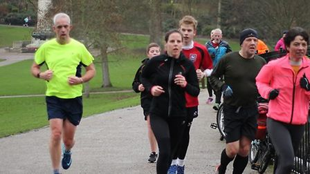 Runners into their stride at the 282nd staging of the Ipswich parkrun