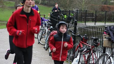 All ages took part in the weekly Ipswich parkrun over the weekend