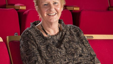 Sarah Holmes, chief executive, New Wolsey Theatre, who has made the Stage 100 list of influential th