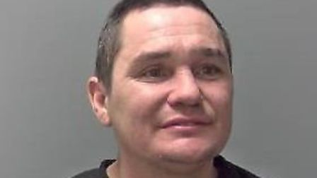 Richard 'Ricky' Florian, of Bury St Edmunds, has been jailed for 12 weeks. Picture: SUFFOLK POLICE