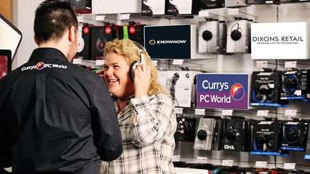 Currys PC World is part of the Dixons Carphone stable