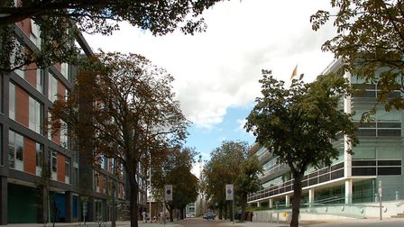 Ipswich Council (left) and Suffolk County Council (right) are both putting up their elements of coun