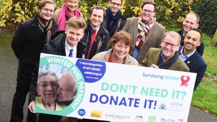 Launch of this year's Surviving Winter campaign. Picture: GREGG BROWN