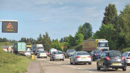 Where will you find roadworks on major routes this week?