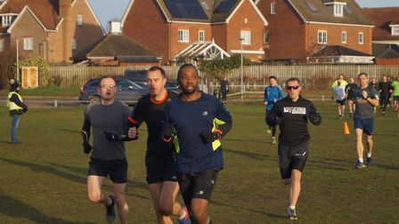 Runners get into their stride at Saturday's 181st staging of the Kesgrave parkrun