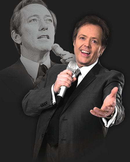 Jimmy Osmond pays tribute to Andy Williams in new show Moon River and Me. Picture: CONTRIBUTED