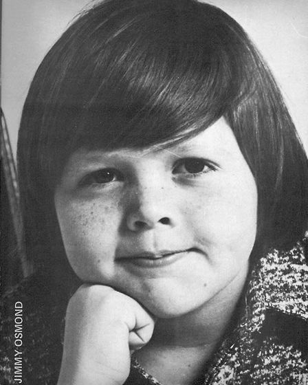 A young Jimmy Osmond. Picture: CONTRIBUTED