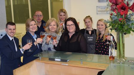 Members of the team at the Weston Business Centre in Colchester which is celebrating its 10th annive