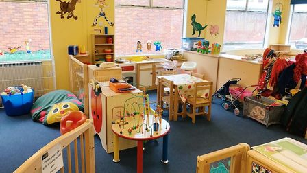 The play area at Ormiston Families' prison visitor centre. Picture: ORMISTON FAMILIES