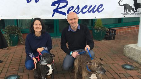 Framlingham Technology Centre raised nearly �2,000 for Suffolk Animal Rescue. Picture: TOM POTTER