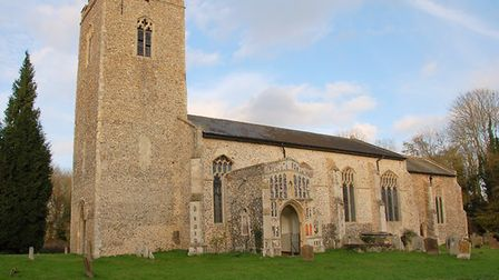 St Lawrence Church were the break-in took place. Picture: CONTRIBUTED
