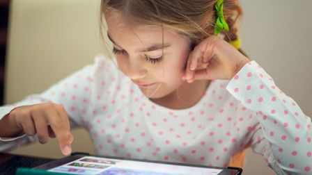 Youngsters are being taught responsible social media use to stay safe online. Picture: GETTY IMAGES/